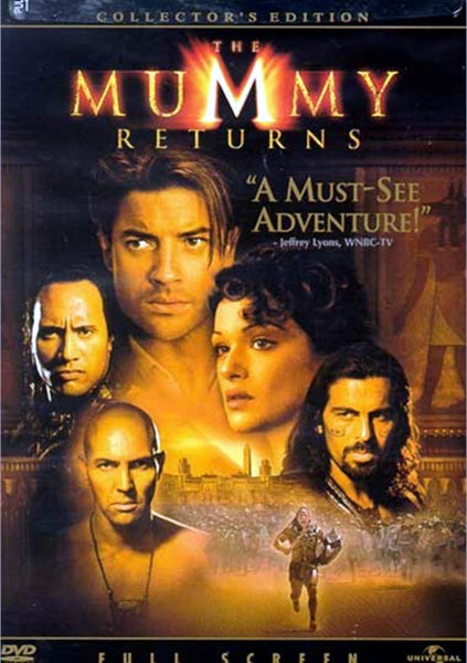 The Mummy Returns DVD (Fullscreen Collector's Edition) (Free Shipping)