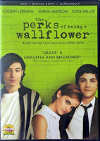 The Perks Of Being A Wallflower DVD (Free Shipping)