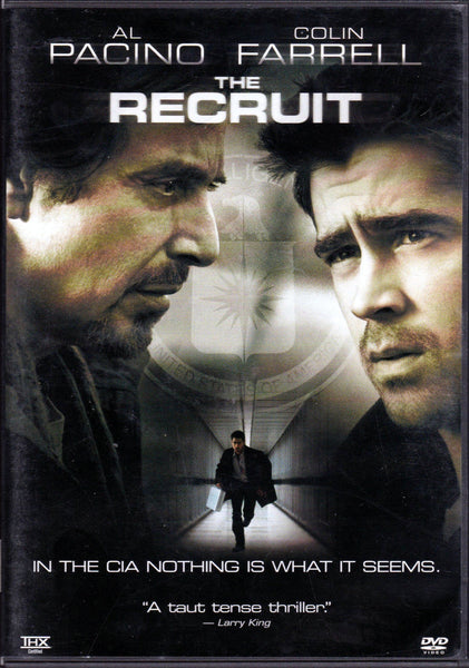 The Recruit DVD (Free Shipping)