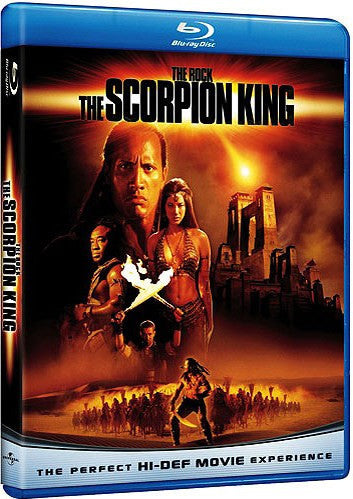 The Scorpion King Blu-Ray (Free Shipping)