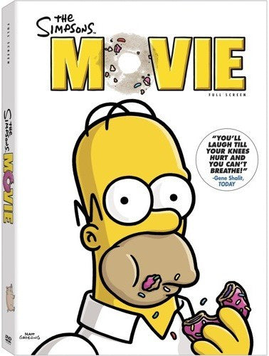 The Simpsons Movie DVD (Fullscreen) (Free Shipping)