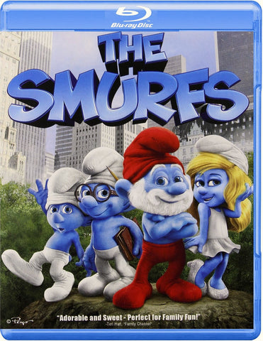 The Smurfs Blu-Ray + UltraViolet (Free Shipping)
