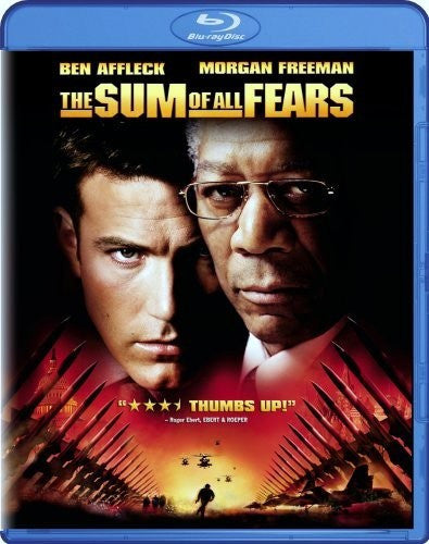 The Sum of All Fears Blu-Ray (Free Shipping)