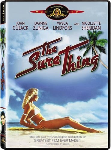 The Sure Thing DVD (Free Shipping)