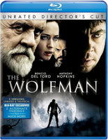 The Wolfman Blu-Ray (2-Disc Unrated Director's Cut) (Free Shipping)