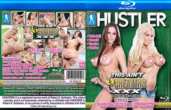This Ain't Cheaters XXX - Hustler Adult Blu-Ray (Free Shipping)