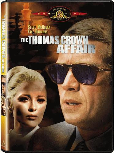 The Thomas Crown Affair DVD (Free Shipping)