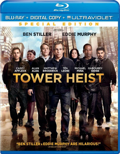 Tower Heist Blu-ray + Digital Copy + UltraViolet (Free Shipping)