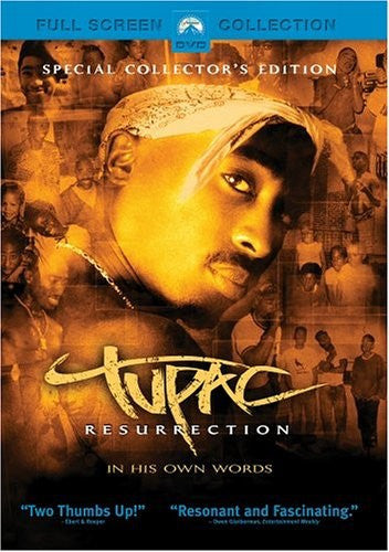 Tupac - Resurrection DVD (Fullscreen) (Free Shipping)