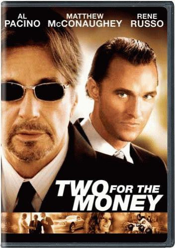 Two For The Money DVD (Widescreen) (Free Shipping)