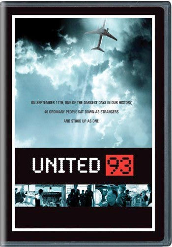 United 93 DVD (Fullscreen) (Free Shipping)
