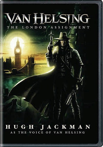 Van Helsing: The London Assignment DVD (Animated) (Free Shipping)