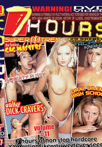 Super XXXtreme Volume # 11 DVD (Adult 7 Hours) (Free Shipping)
