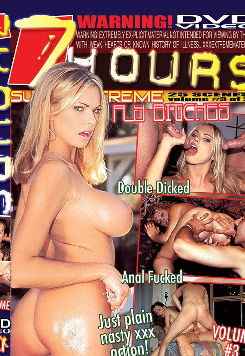 Super XXXtreme Volume # 03 DVD (Adult 7 Hours) (Free Shipping)