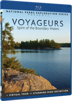 National Parks Exploration Series - Voyageurs - Spirit of the Boundary Waters Blu-Ray (Free Shipping)