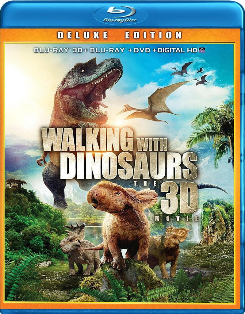 Walking With Dinosaurs Blu-Ray 3D + Blu-Ray + DVD + Digital HD (2-Disc Set) (Free Shipping)