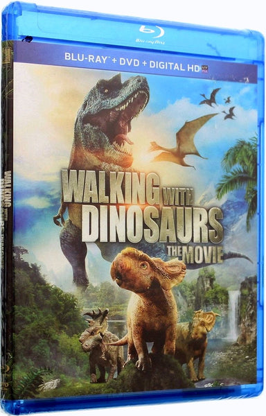 Walking With Dinosaurs The Movie Blu-ray + DVD + UltraViolet (2-Disc) (Free Shipping)