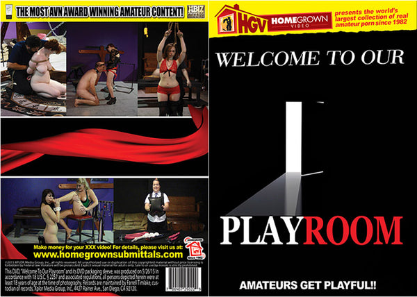 Welcome To Our Playroom - Adult DVD (Free Shipping)