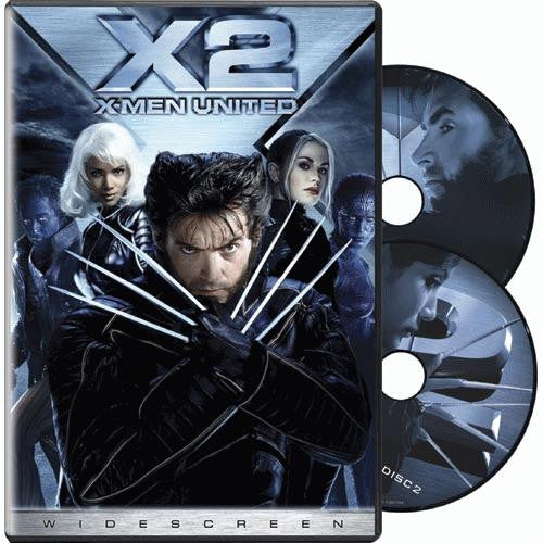 X2: X-Men United DVD (2-Disc Widescreen Edition) (Free Shipping)