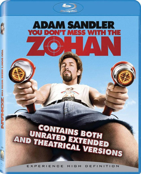 You Don't Mess With the Zohan Blu-Ray (Unrated) (Free Shipping)