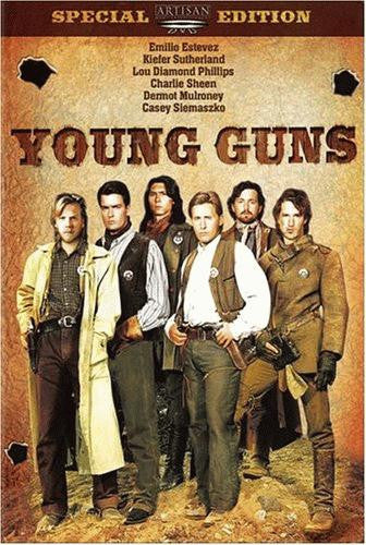 Young Guns DVD (Special Edition) (Free Shipping)