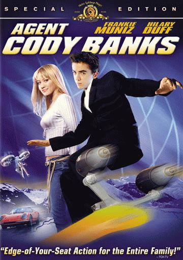 Agent Cody Banks DVD (Special Edition) (Free Shipping)