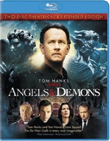 Angels & Demons Blu-ray (3-Disc Theatrical & Extended Editions) (Free Shipping)