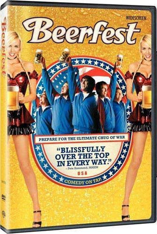Beerfest DVD (R-Rated) (Free Shipping)