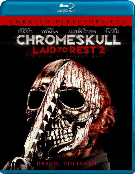 ChromeSkull - Laid To Rest 2 Blu-Ray (Unrated) (Free Shipping)