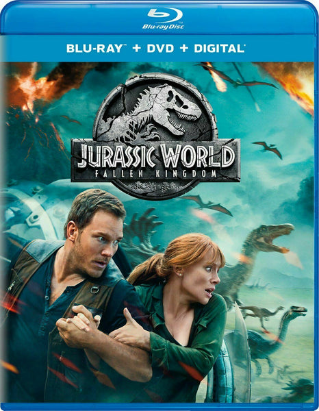 Jurassic World: Fallen Kingdom Blu-ray + DVD +Digital 2-Disc (Free Shipping)