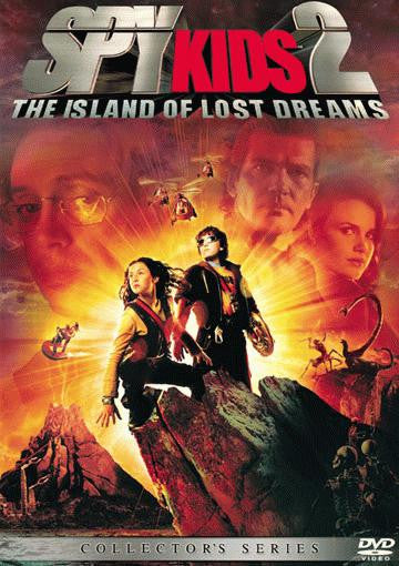 Spy Kids 2 - The Island Of Lost Dreams DVD (Free Shipping)