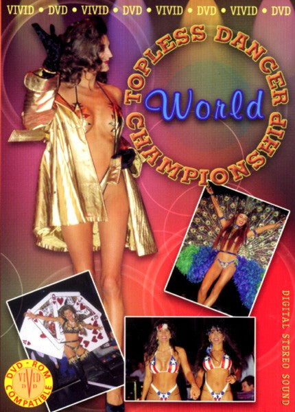 Topless Dancer World Championship DVD (Free Shipping)