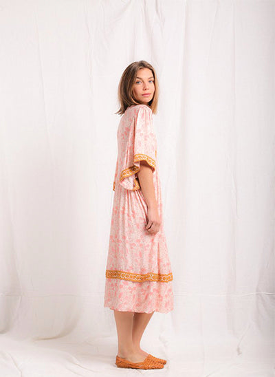 CHINTZ ZINGARO DRESS