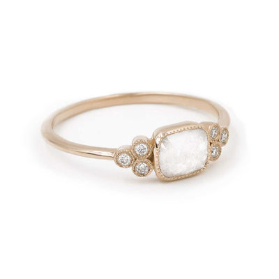 Adaline, Rose Gold, Ice Grey Diamond | Giacomelli Jewelry