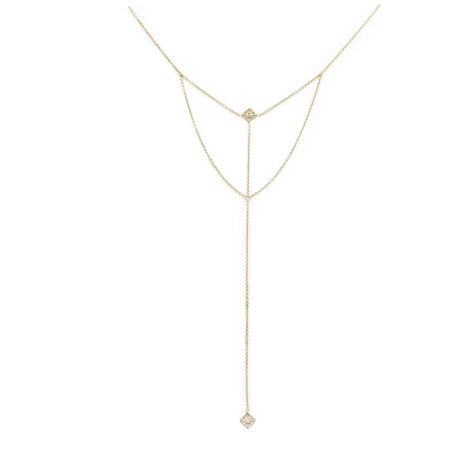 The Star Compass Lariat
