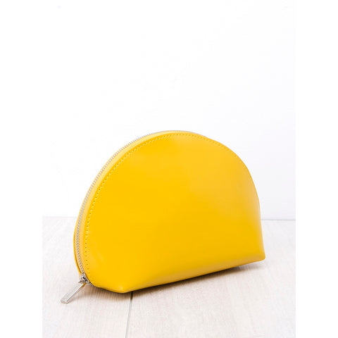 Cosmetic Pouch Yellow Gold