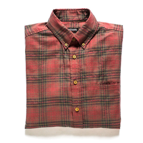 All Year Plaid Button Down