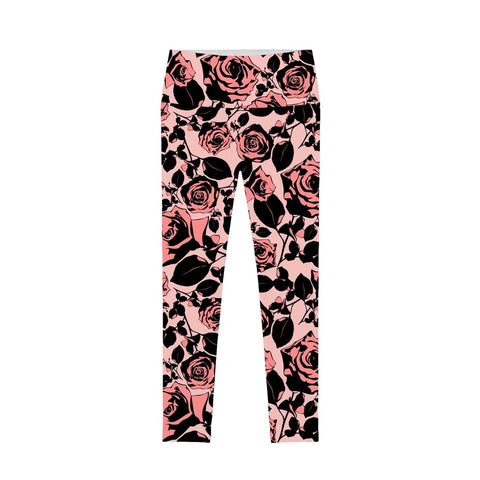Flirty Girl Lucy Floral Printed Performance Leggings - Women