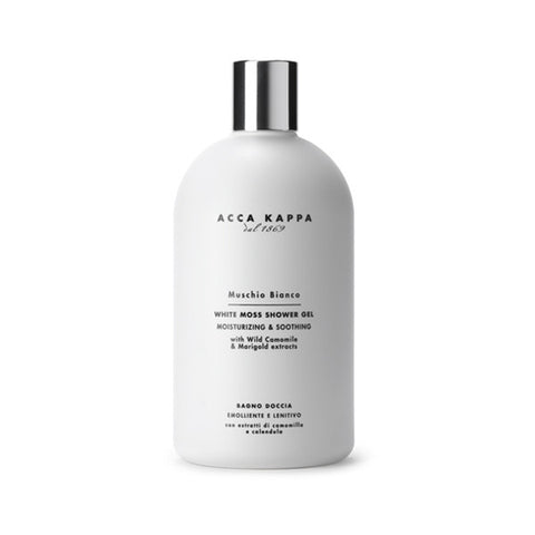 Acca Kappa White Moss Bath Foam & Shower Gel - 17 oz.