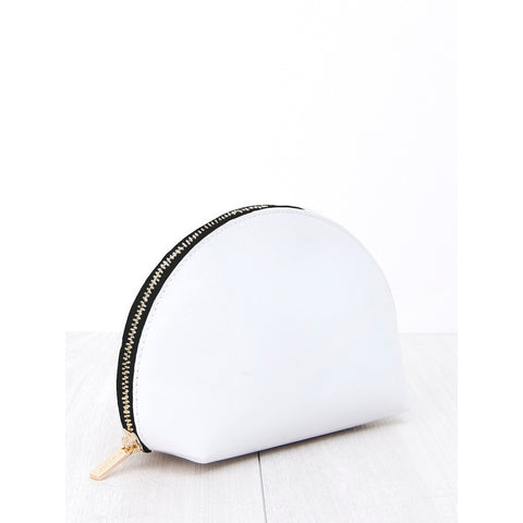 Cosmetic Pouch White