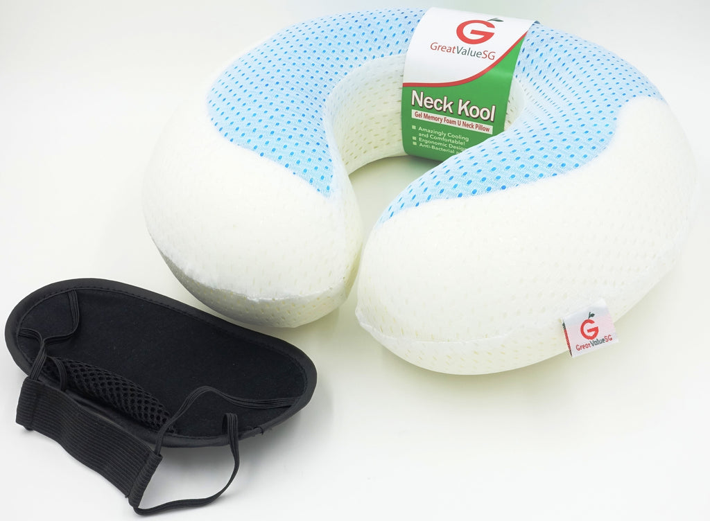 Great Value SG Introduces Neck Kool Gel Memory Foam U Pillow