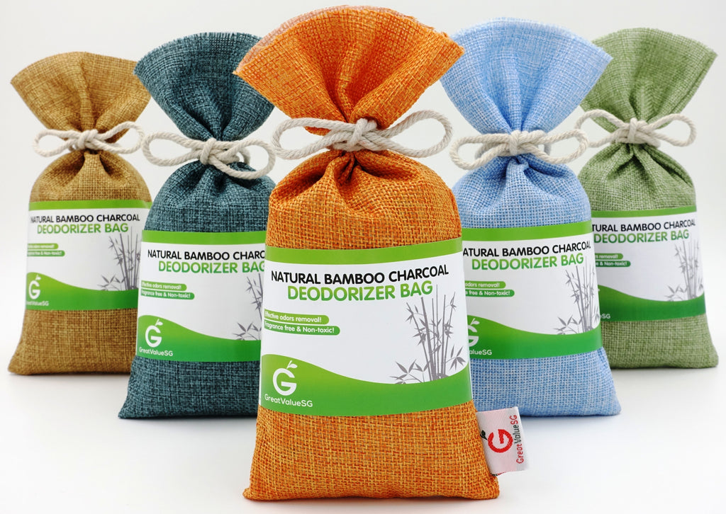 Great Value SG Debuts Cherry Orange Natural Bamboo Charcoal Deodorizer Bag