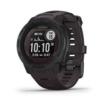 Instinct Solar, Solar-Powered Rugged Outdoor Smartwatch