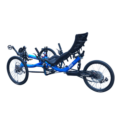 Rear Suspension Recumbent Trikes