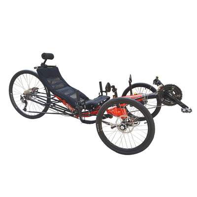 Long Distance Touring Recumbent Trikes