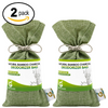BAMBOO CHARCOAL DEODORIZER BAG 2 PACK BUNDLE