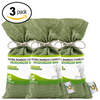 BAMBOO CHARCOAL DEODORIZER BAG 3 PACK BUNDLE
