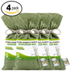 BAMBOO CHARCOAL DEODORIZER BAG 4 PACK BUNDLE