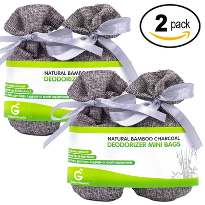 Golden Value SG Bamboo Charcoal Deodorizer Mini Bags