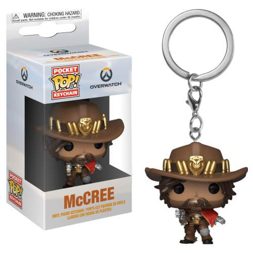 Overwatch Pocket Pop! Keychain McCree